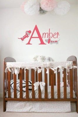 Wall Decal - Nursery Names 2
