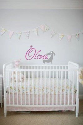Wall Decal - Nursery Names 3
