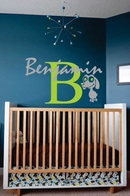 Wall Decal - Nursery Names 4