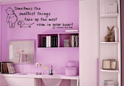 Wall Decal - Sometimes the Smallest Things