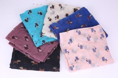 Cute Dog Dachshund Scarves