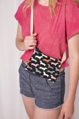 Small Fabric Sling Bag