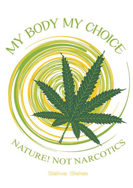 My Body My Choice - Organic Cotton T-Shirt Mens Cut