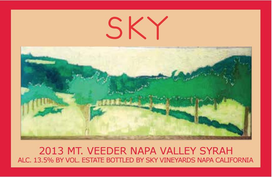 2013 Sky Syrah