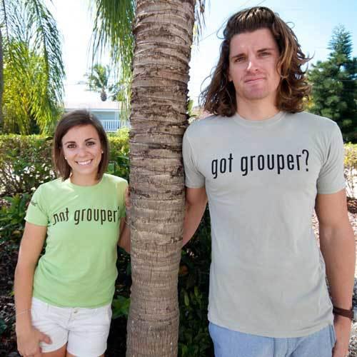 Got Grouper T-Shirt Tan
