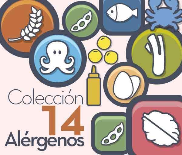 Colección Iconos Alérgenos (GRATIS)