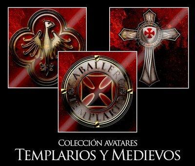 Colección Avatares Templarios y Medievos