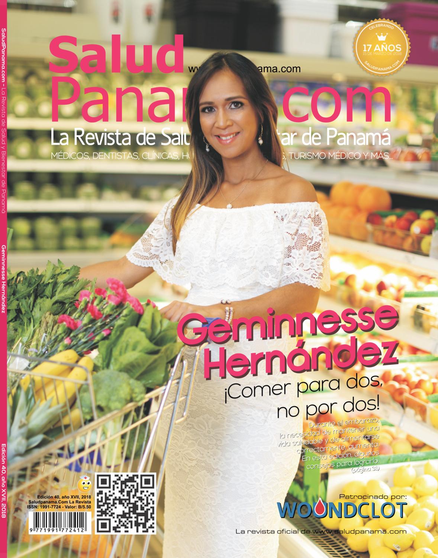 Revista Salud Panamá, Edición Geminnesse Hernández