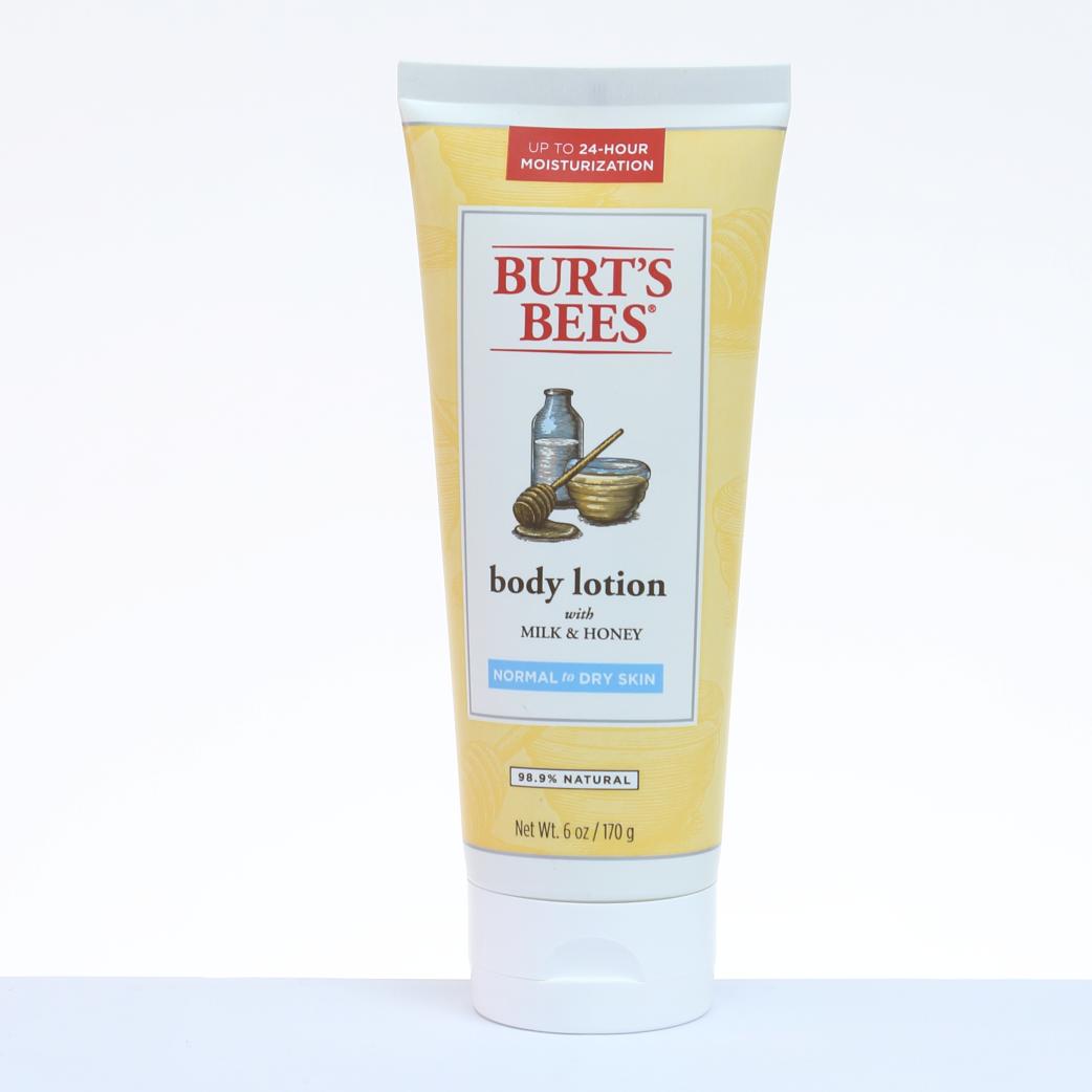 Burts Bees Loción Corporal Milk & Honey - Piel Normal 6 oz. / 170 g.