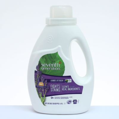 Seventh Generation Detergente Líquido NATURAL Lavanda - 50 oz. / 1.47 L.