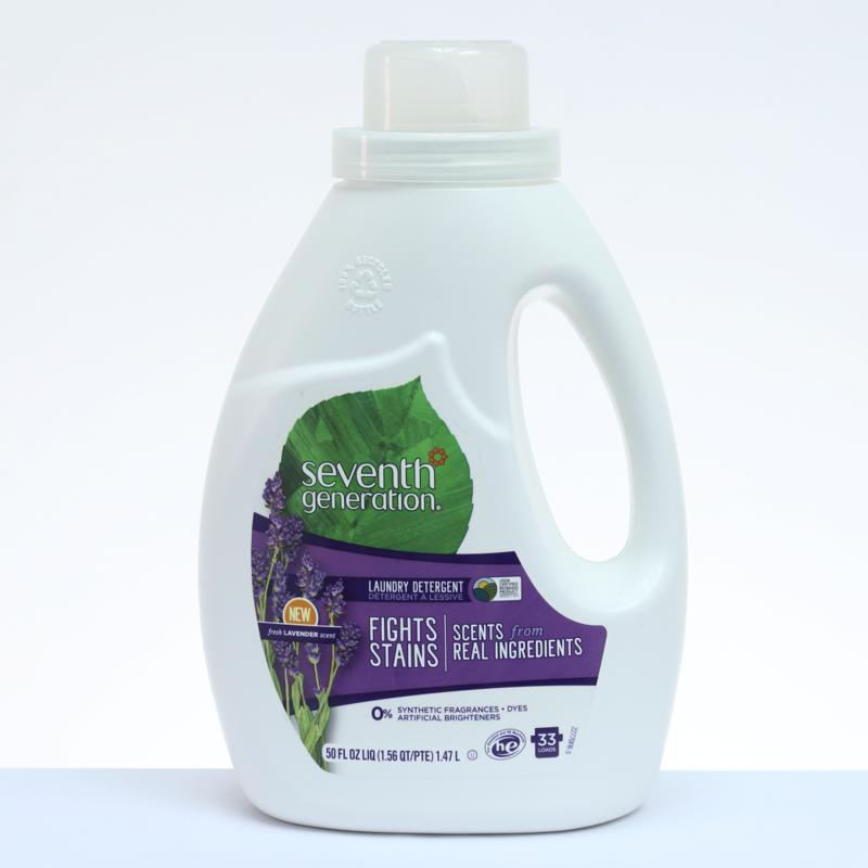 Seventh Generation Detergente Líquido NATURAL Lavanda - 50 oz. / 1.47 L.