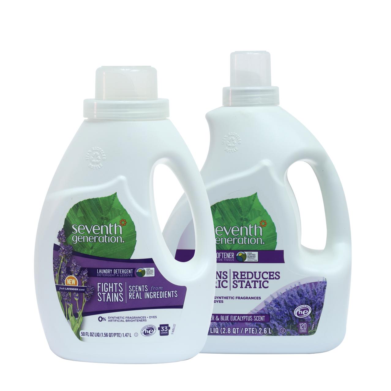 Combo Detergente y Suavizante Naturales de Seventh Generation