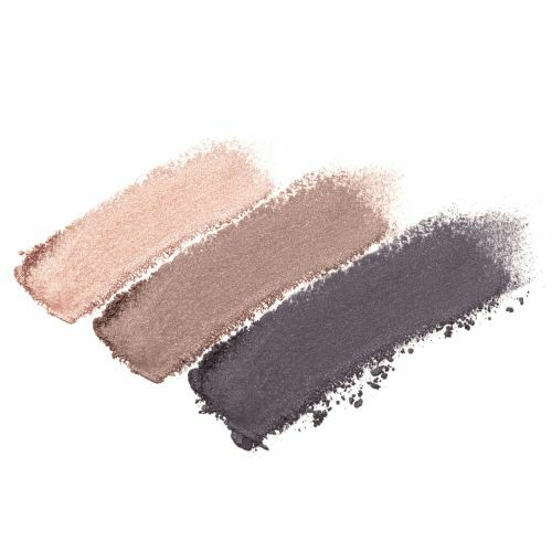 Brown Sugar - shimmery grey, shimmery copper eggplant and shimmery peach