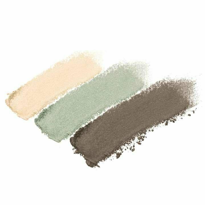 Harmony - soft pearl sheen, shimmery green, shimmery khaki green