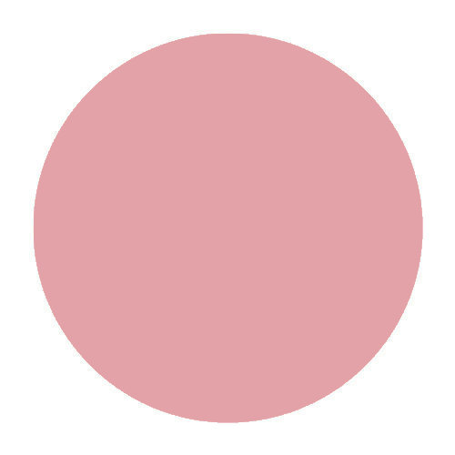 Clearly Pink - bubble gum pink with subtle golden shimmer