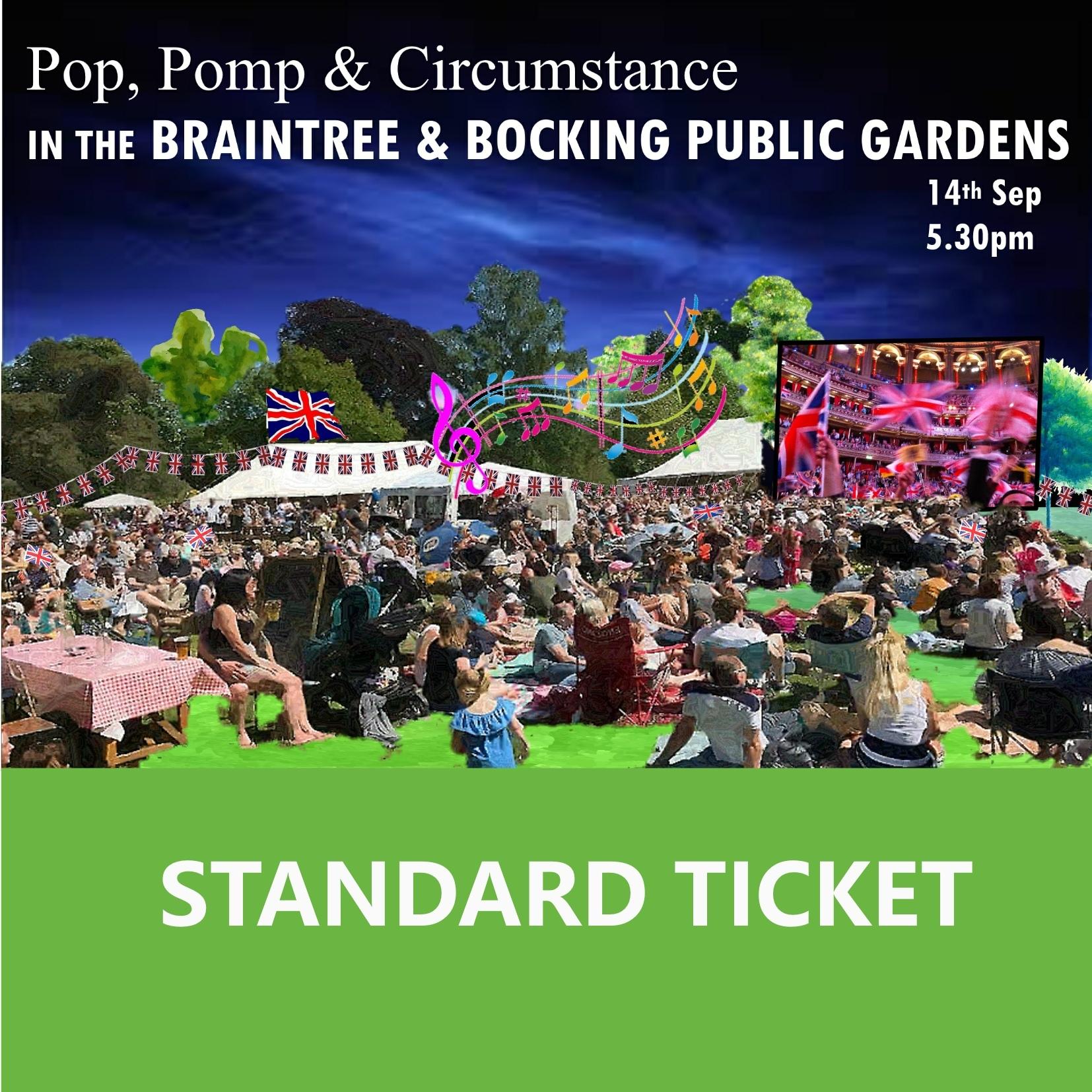 Standard Ticket for Pop, Pomp & Circumstance 00103