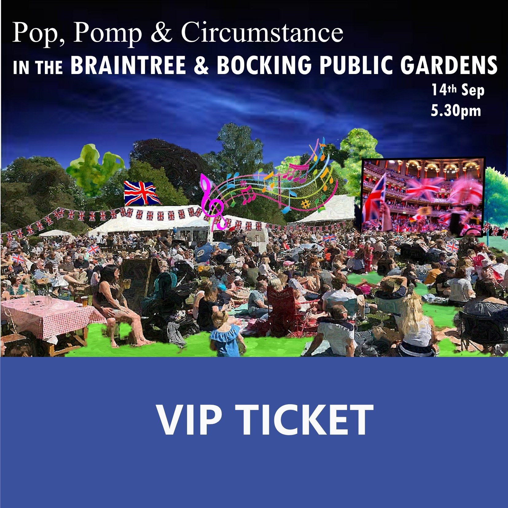 VIP Ticket for Pop, Pomp & Circumstance 00104