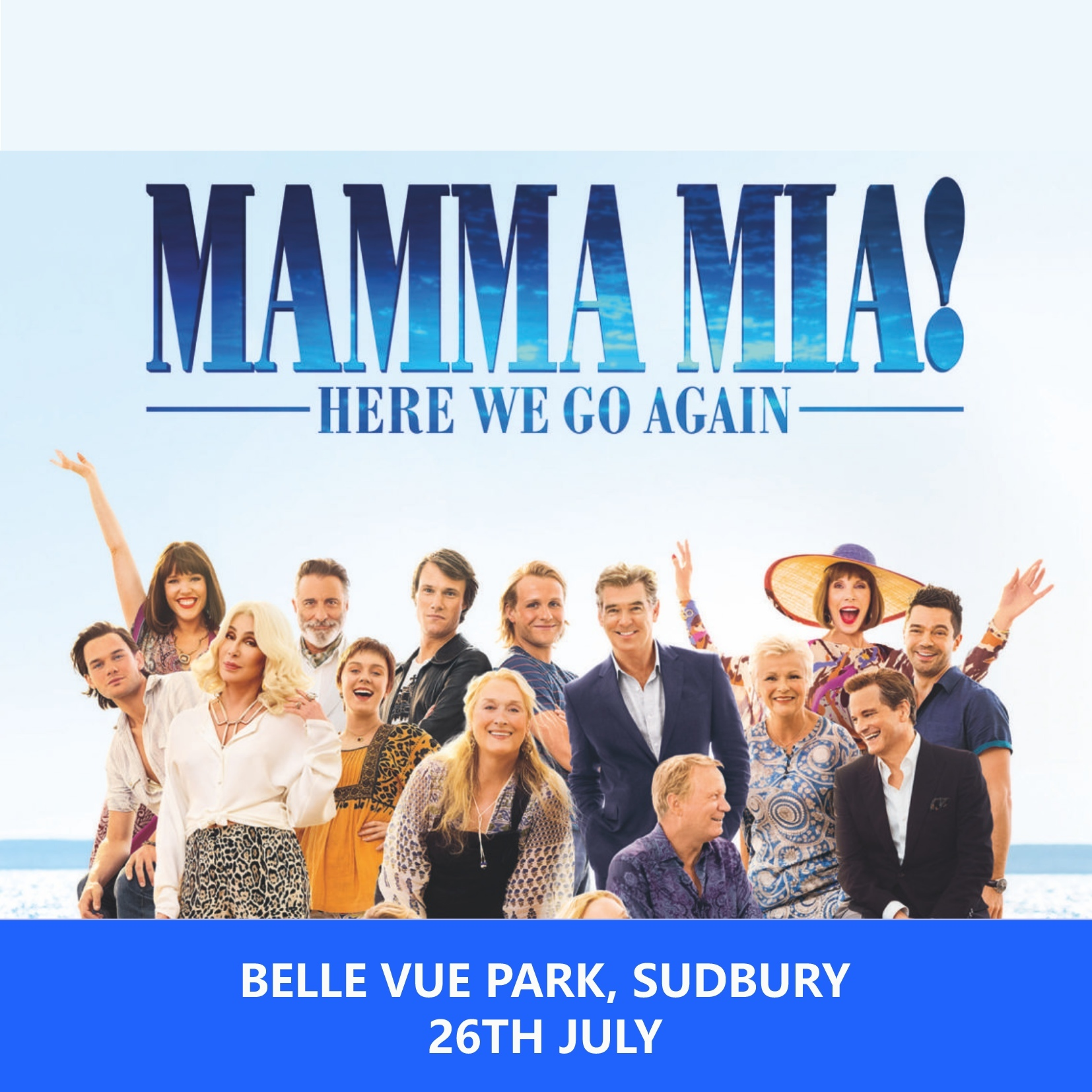 MAMMA MIA HERE WE GO AGAIN @ BELLE VUE 00134