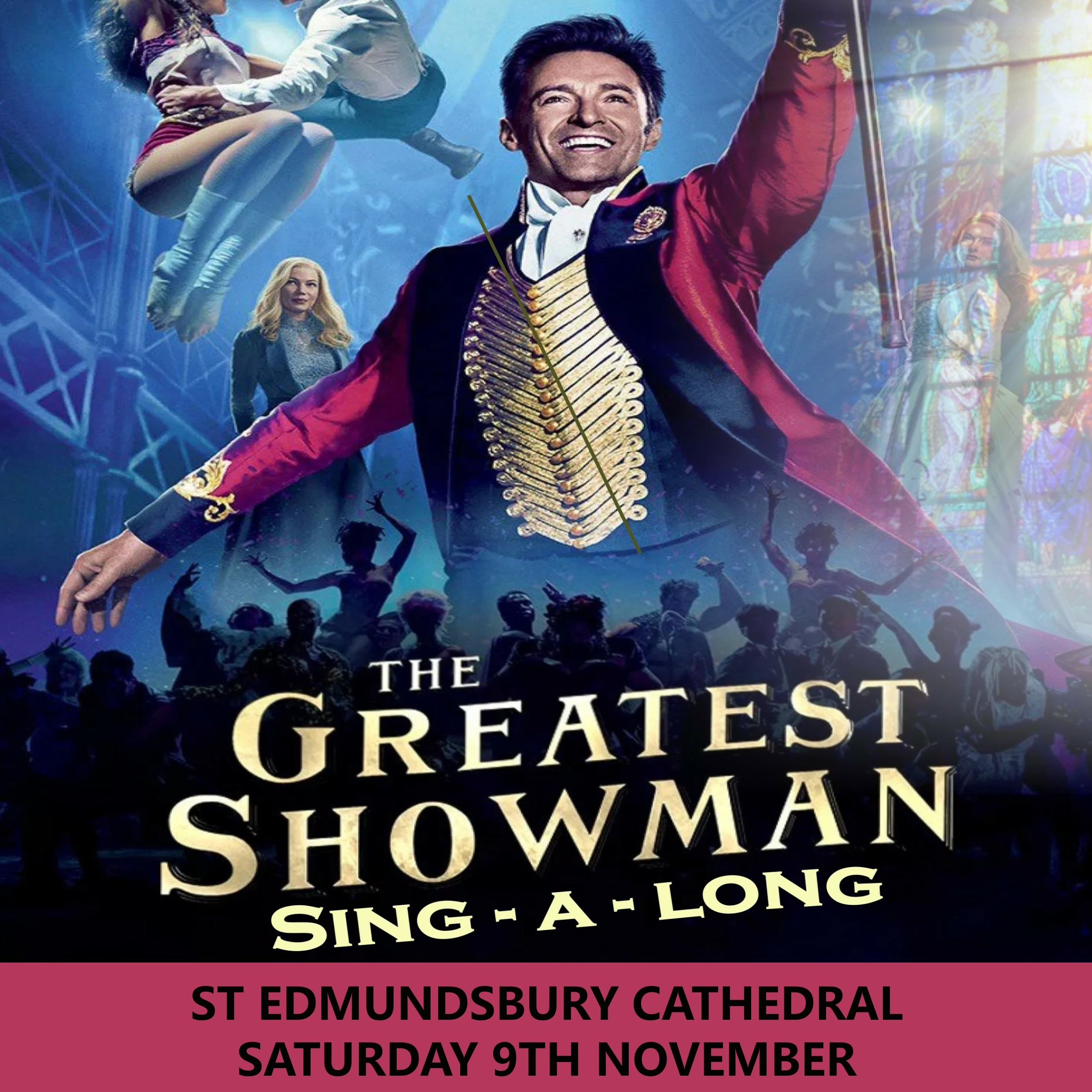 The Greatest Showman Sing-a Long Bury 00237