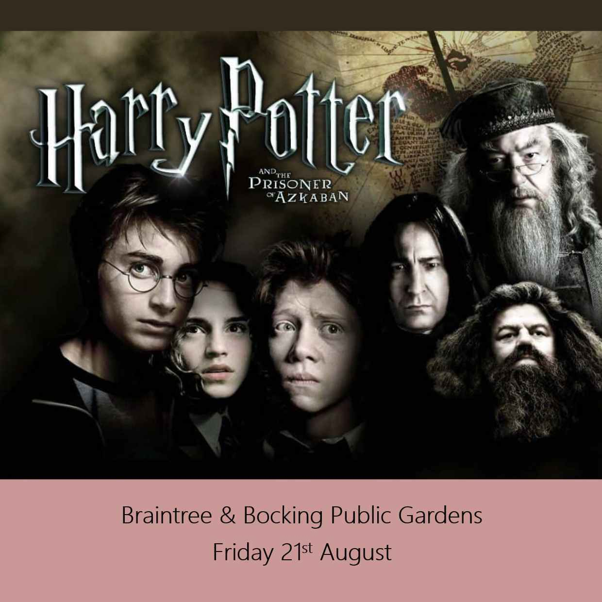 HARRY POTTER AND THE PRISONER OF AZKABAN @ BRAINTREE & BOCKING PUBLIC GARDENS 00265