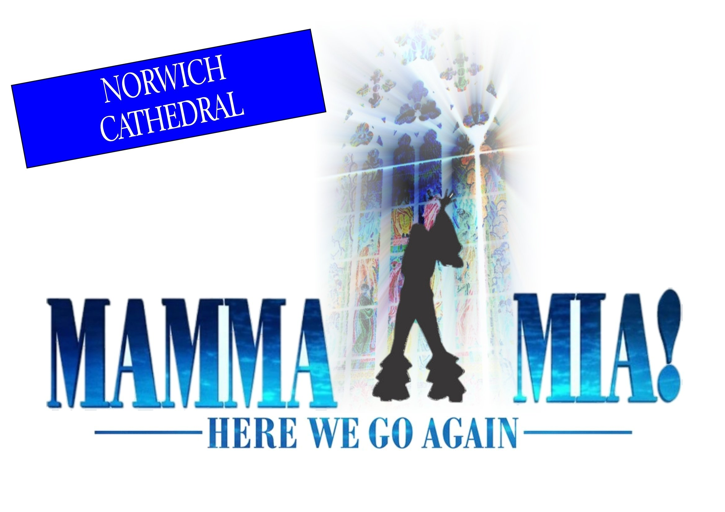 MAMMA MIA HERE WE GO AGAIN @ Norwich Cathedral 2nd February 00126