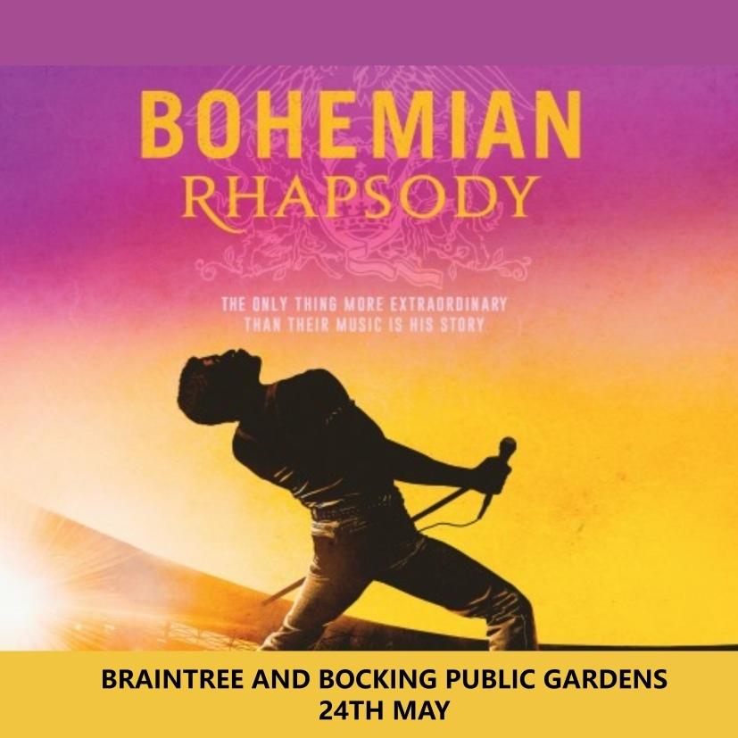 BOHEMIAN RHAPSODY @ BRAINTREE & BOCKING PUBLIC GARDENS 00130