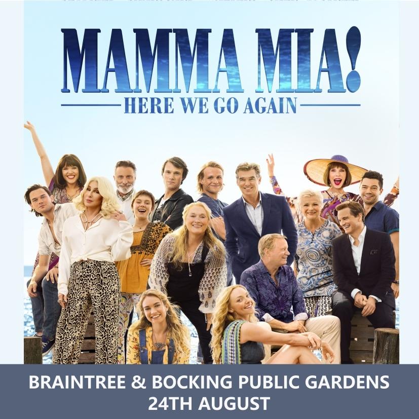 MAMMA MIA HERE WE GO AGAIN @ BRAINTREE & BOCKING PUBLIC GARDENS 00136