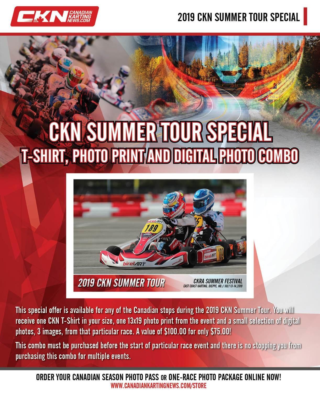 CKN Summer Tour Special - T-Shirt, Photo Print and Digital Photo Combo
