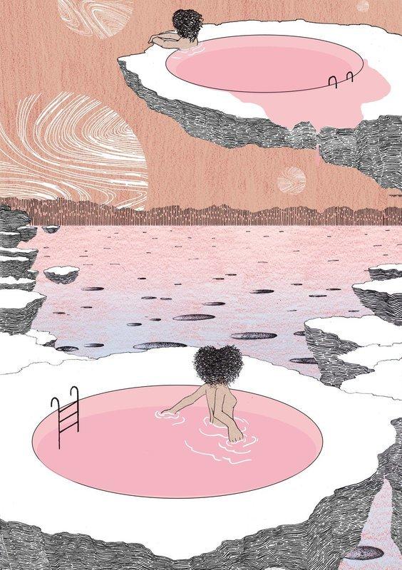 Pools | A3 Print
