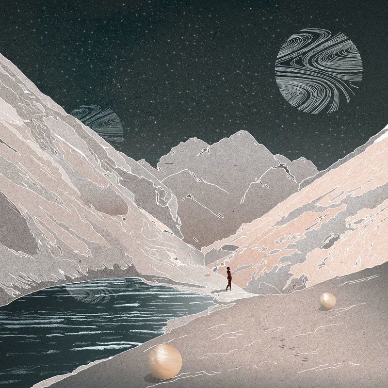 Moon | 42 x 42CM Print
