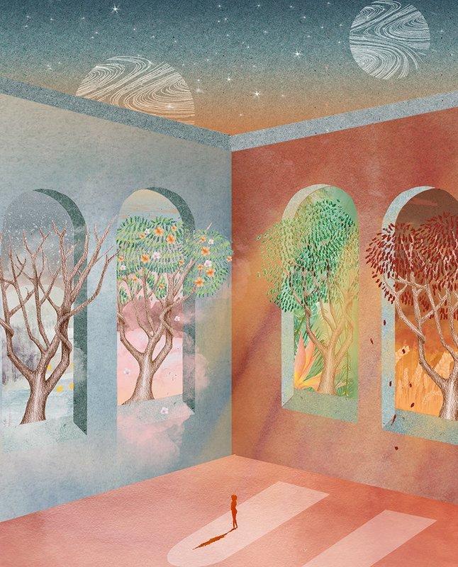 Seasons | A3 Print