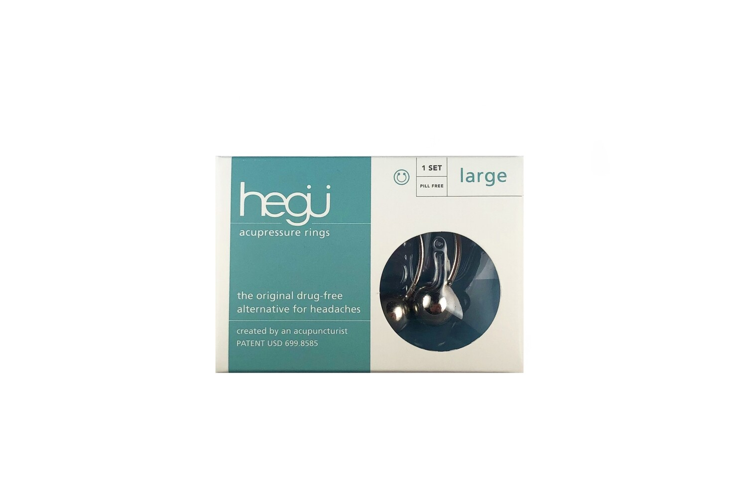 Hegu acupressure rings LARGE
