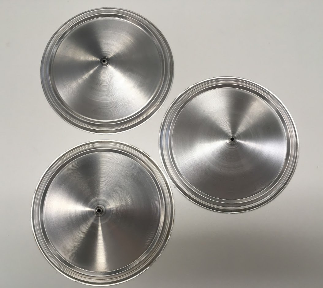 Quarterman QNTC-6 Tri-cone Set of (3) > Res-O-Cones 5-15/16""