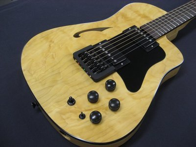 Blue Note Woodworks Acousta-Elecktra Stereo Crossover Guitar #113