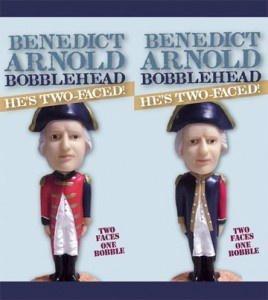 Benedict Arnold Bobblehead