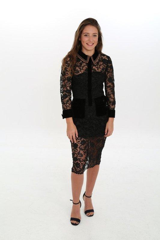 Condotti Black Lace Dress
