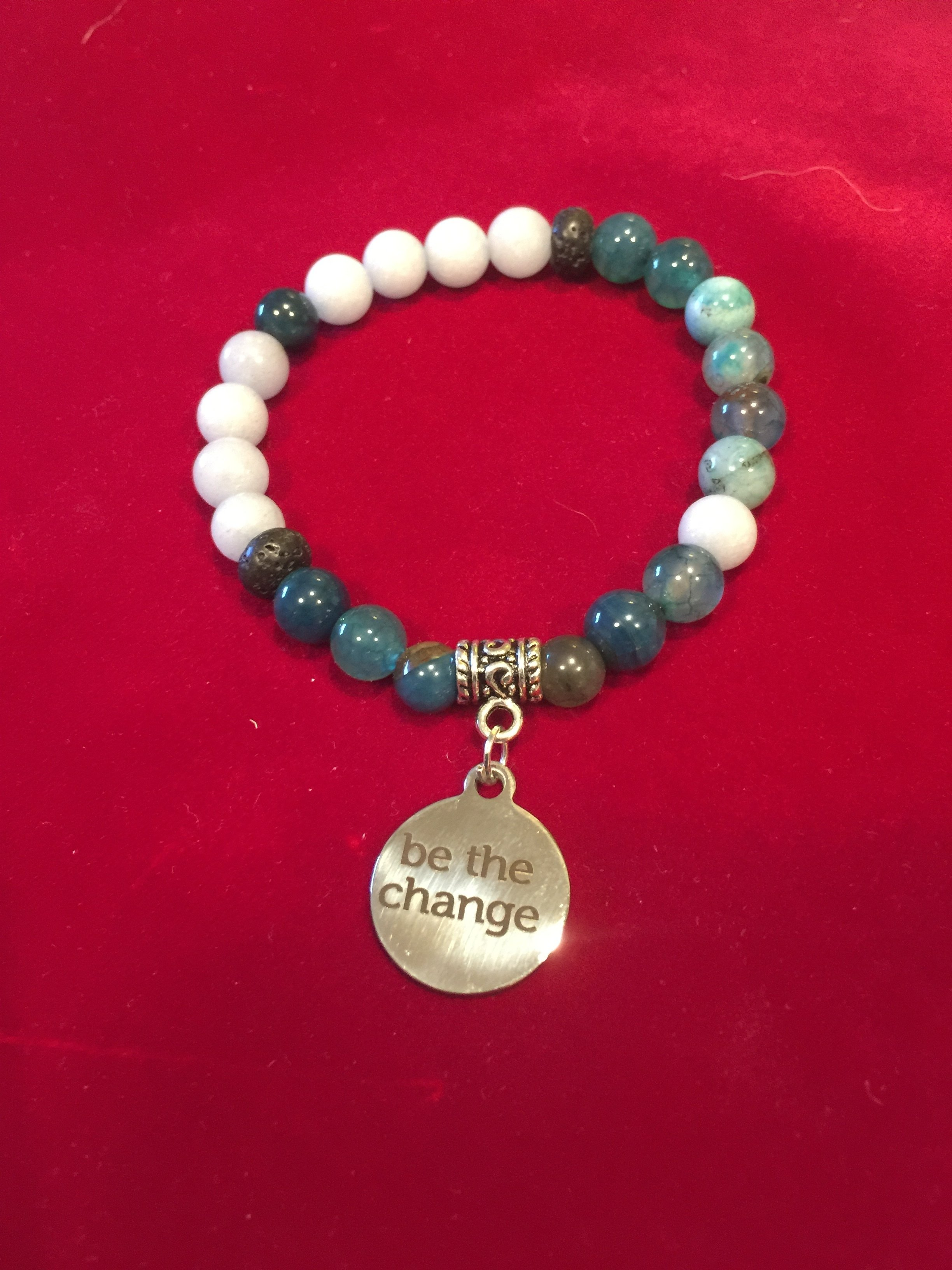 "The Special Mark David "" be the change"" bracelet 0001000"