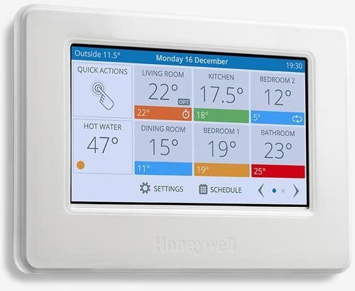 Evohome smart wireless zoning thermostat - works with Alexa 00004