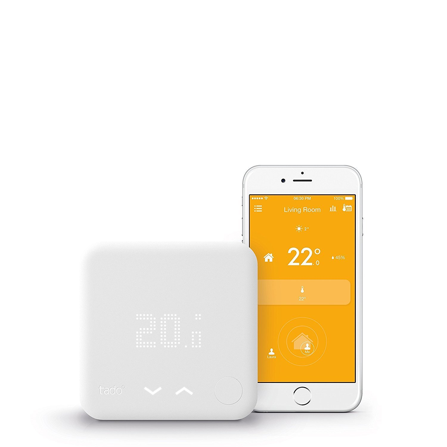 TADO° Smart Thermostat Starter Kit (v3) - intelligent heating control with geofencing via smartphone 00006