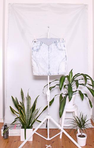Vintage Denim Skirt (naisten M) 60000170000495