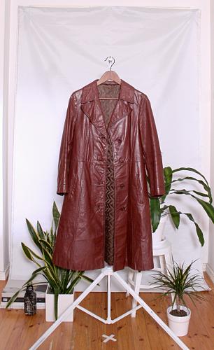 Vintage 70's Leather Jacket (naisten 38/M) 60000422000512
