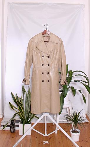 Vintage 70's Leather Jacket (naisten 38/M) 60000244000508