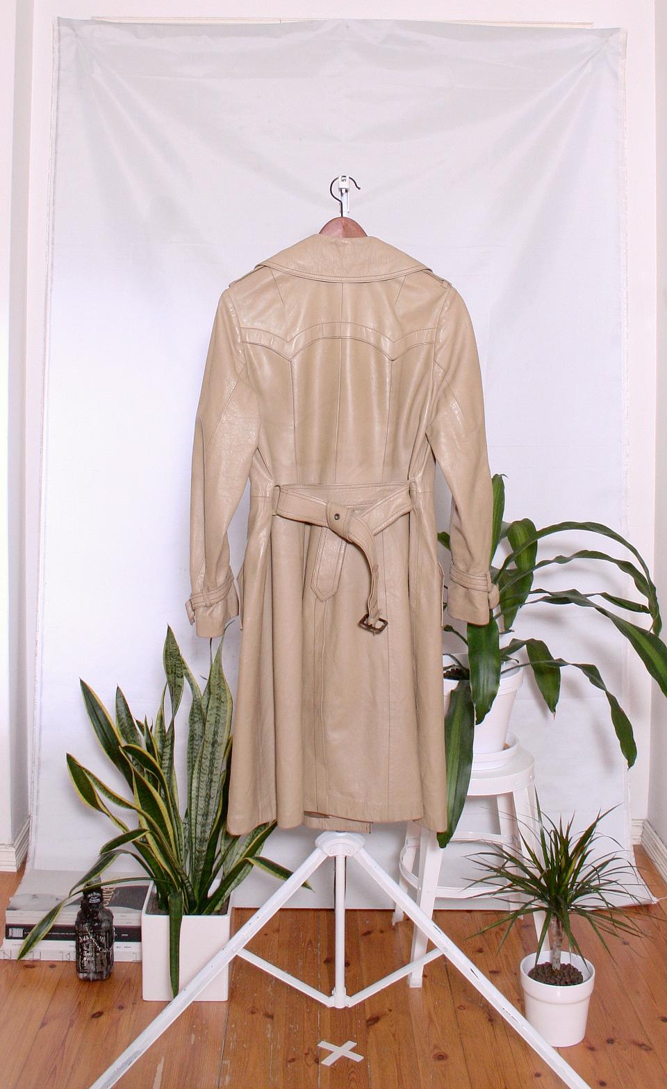 Vintage 70's Leather Jacket (naisten 38/M)