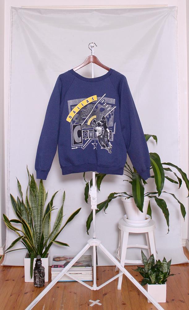 Vintage College Sweater (naisten M / miesten XS-S) 34000045000569