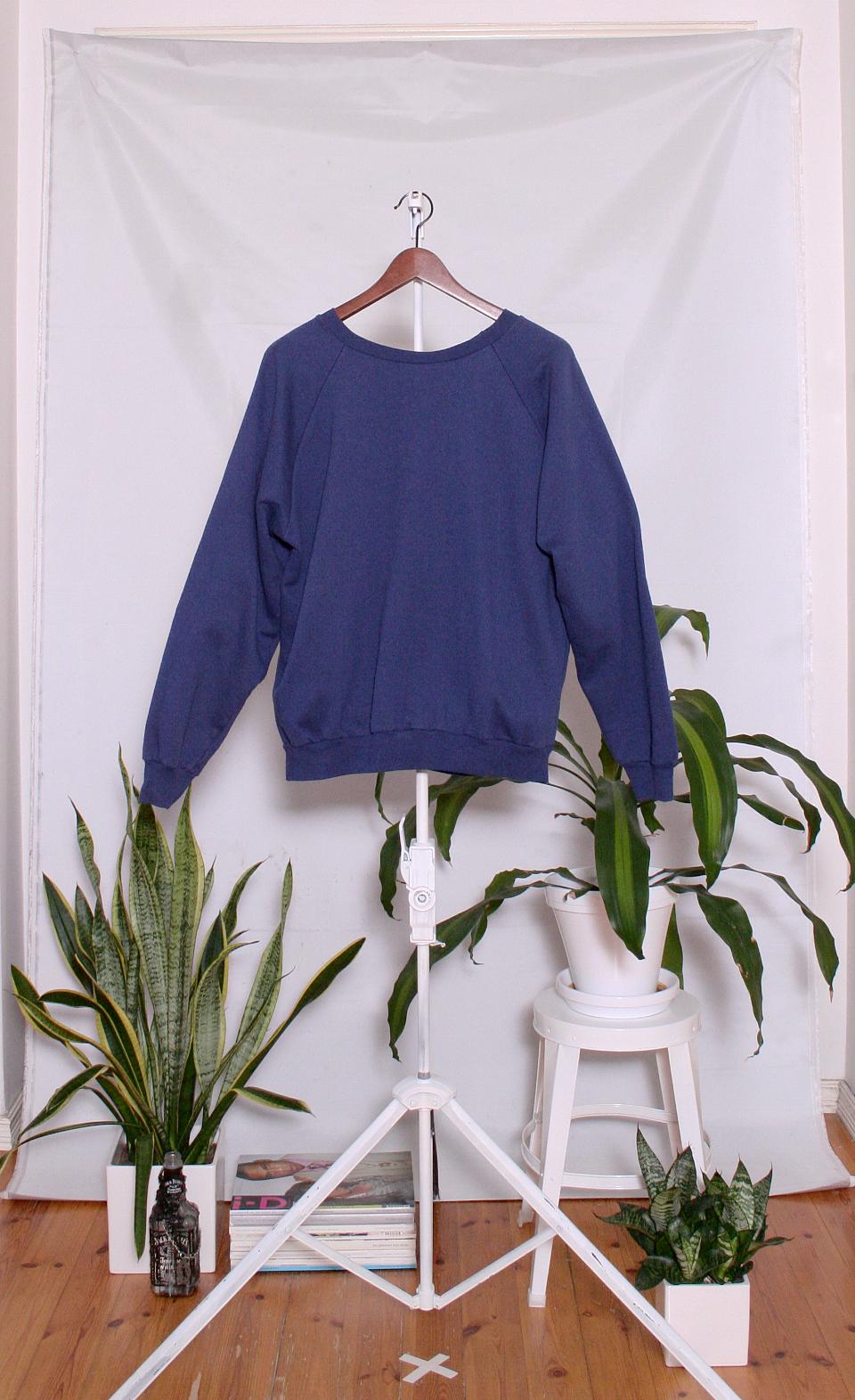 Vintage College Sweater (naisten M / miesten XS-S)