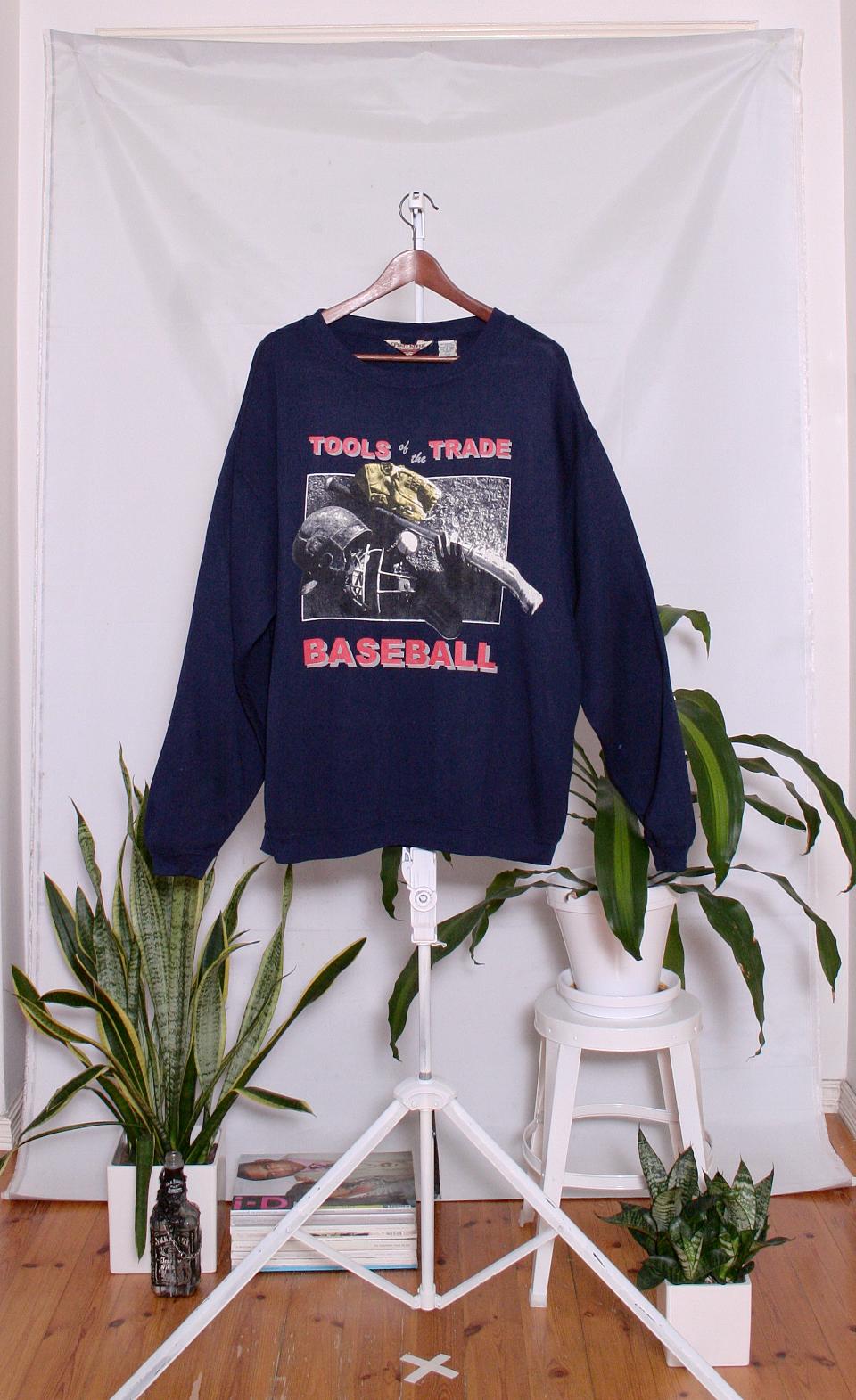 Vintage College Sweater (miesten L / naisten XL)