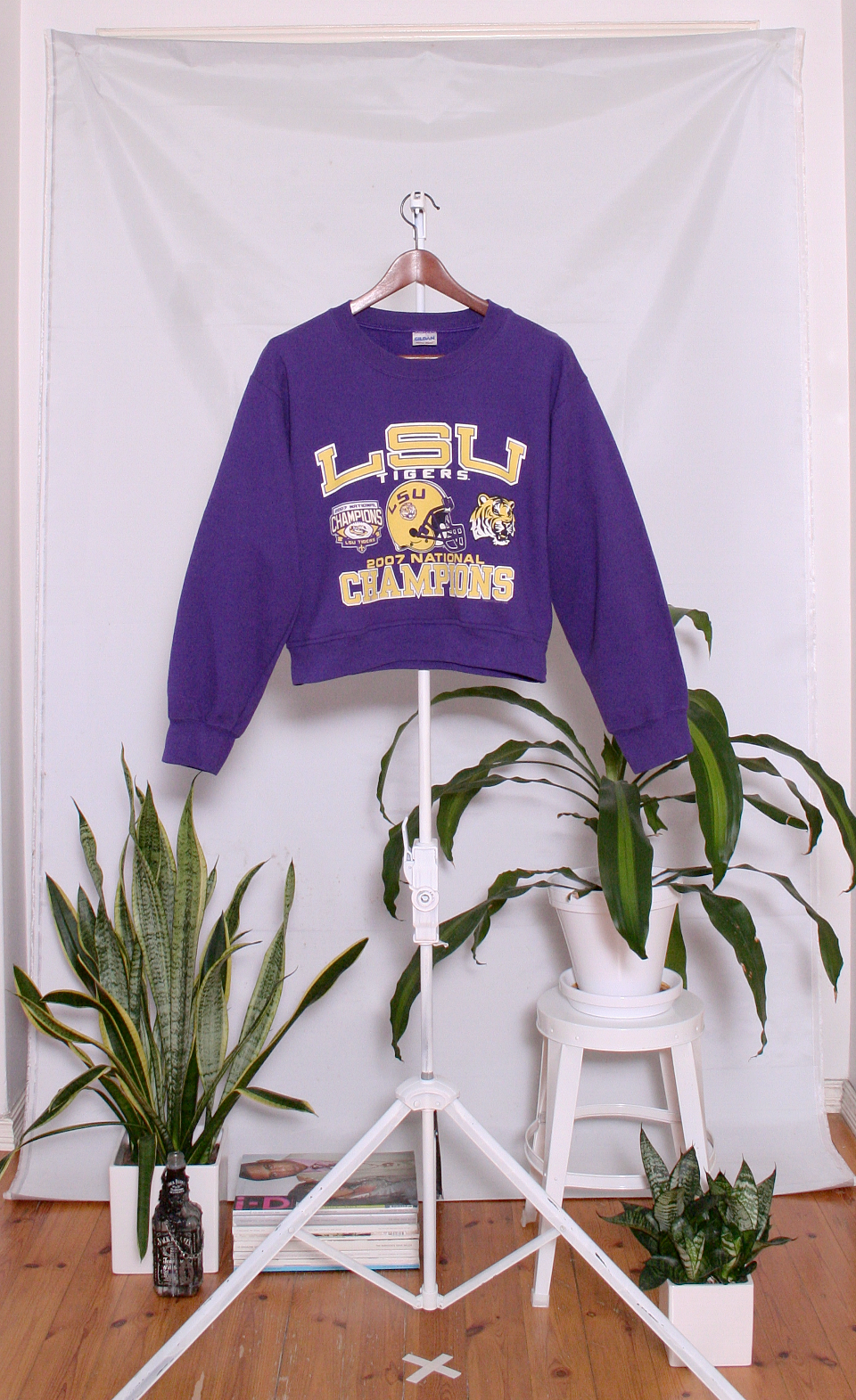 Vintage College Sweater (naisten M)