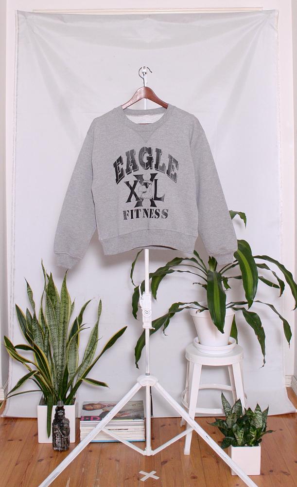 Vintage College Sweater (naisten M) 34000045000597