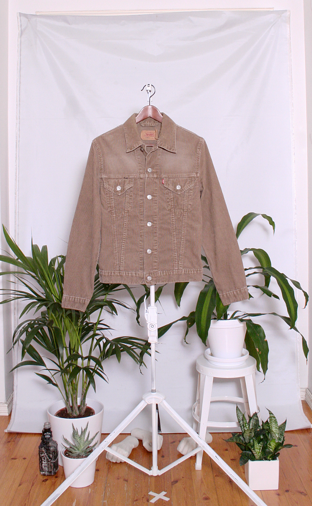 Vintage Levi's Cord Jacket (naisten M / miesten XS) 20000646000648
