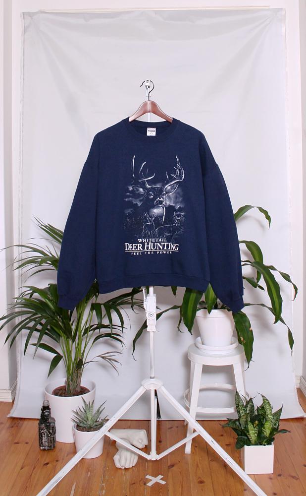 Vintage College Sweater (miesten L / naisten XXL) 34000052000660